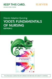 cover image - Elsevier Adaptive Quizzing for Yoost Fundamentals of Nursing (Access Card),2nd Edition