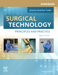 cover image - Workbook for Surgical Technology - Elsevier eBook on VitalSource,8th Edition