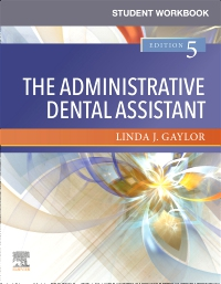 cover image - Student Workbook for The Administrative Dental Assistant,5th Edition