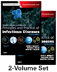 cover image - Mandell, Douglas, and Bennett's Principles and Practice of Infectious Diseases - Elsevier eBook on VitalSource,8th Edition