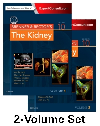 cover image - Brenner and Rector's The Kidney - Elsevier eBook on VitalSource,10th Edition