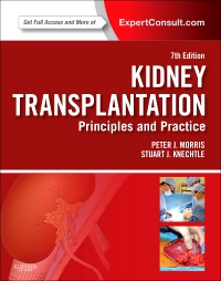 cover image - Kidney Transplantation - Principles and Practice - Elsevier eBook on VitalSource,7th Edition