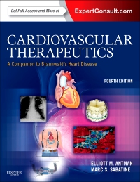 cover image - Cardiovascular Therapeutics - A Companion to Braunwald's Heart Disease - Elsevier eBook on VitalSource,4th Edition