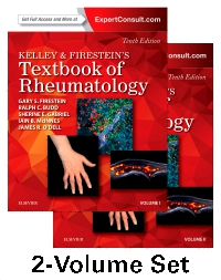 cover image - Kelley and Firestein's Textbook of Rheumatology - Elsevier eBook on VitalSource,10th Edition