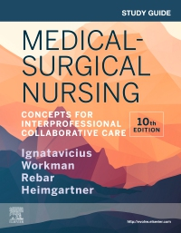 cover image - Study Guide for Medical-Surgical Nursing,10th Edition