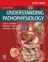 cover image - Study Guide for Understanding Pathophysiology,7th Edition