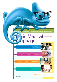 cover image - Elsevier Adaptive Learning for Basic Medical Language,6th Edition