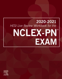 cover image - 2020-2021 HESI Live Review Workbook for the NCLEX-PN Exam,3rd Edition