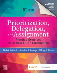 cover image - Prioritization, Delegation, and Assignment - Elsevier eBook on VitalSource,5th Edition