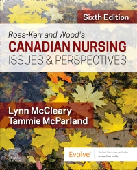 cover image - Ross-Kerr and Wood's Canadian Nursing Issues & Perspectives,6th Edition