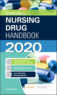 cover image - Saunders Nursing Drug Handbook 2020 Elsevier eBook on VitalSource