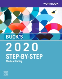 cover image - Buck's Workbook for Step-by-Step Medical Coding, 2020 Edition Elsevier eBook on VitalSource