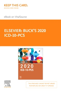 cover image - Buck's 2020 ICD-10-PCS Elsevier eBook on VitalSource (Retail Access Card)