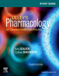 cover image - Study Guide for Lilley's Pharmacology for Canadian Health Care Practice,4th Edition