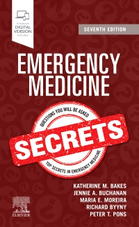 cover image - Emergency Medicine Secrets,7th Edition