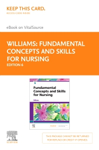 cover image - Fundamental Concepts and Skills for Nursing - VST(AC),6th Edition