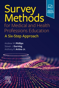 cover image - Survey Methods for Medical and Health Professions Education