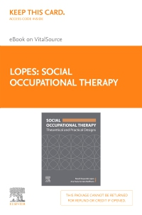 cover image - Social Occupational Therapy  Elsevier E-Book on VitalSource (Retail Access Card)