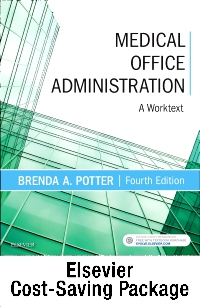 cover image - Medical Office Administration & SimChart for the Medical Office Workflow Manual 2019 Edition Package,4th Edition