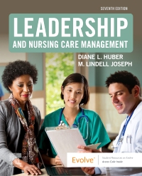 cover image - Leadership and Nursing Care Management,7th Edition