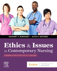 cover image - Ethics & Issues In Contemporary Nursing