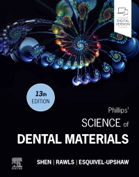 cover image - Phillips' Science of Dental Materials,13th Edition