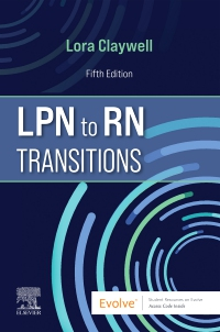 cover image - LPN to RN Transitions,5th Edition