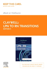 cover image - LPN to RN Transitions - Elsevier eBook on VitalSource (Retail Access Card),5th Edition