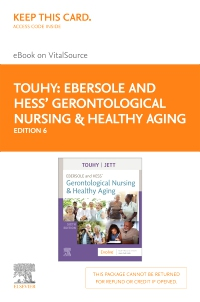 cover image - Ebersole and Hess' Gerontological Nursing & Healthy Aging - Elsevier eBook on VitalSource (Retail Access Card),6th Edition