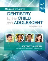 cover image - McDonald and Avery's Dentistry for the Child and Adolescent - Elsevier eBook on VitalSource,11th Edition