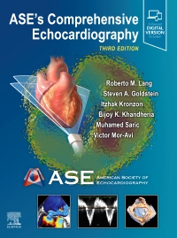 cover image - ASE's Comprehensive Echocardiography,3rd Edition