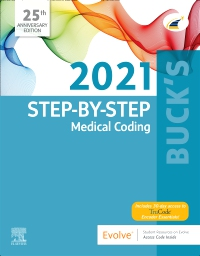 cover image - Buck's Step-by-Step Medical Coding, 2021 Edition