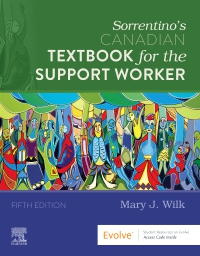 cover image - Sorrentino's Canadian Textbook for the Support Worker,5th Edition