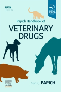 cover image - Papich Handbook of Veterinary Drugs - Elsevier eBook on VitalSource,5th Edition