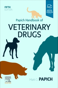 cover image - Papich Handbook of Veterinary Drugs - Elsevier eBook on VitalSource (Retail Access Card),5th Edition