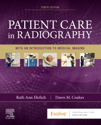cover image - Evolve Resources for Patient Care in Radiography,10th Edition