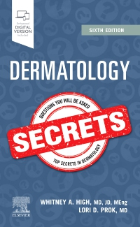 cover image - Dermatology Secrets - Elsevier E-Book on VitalSource,6th Edition