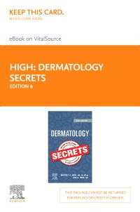 cover image - Dermatology Secrets E-Book on VitalSource (Retail Access Card),6th Edition