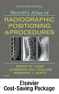 cover image - Mosby's Radiography Online: Anatomy and Positioning for Merrill's Atlas of Radiographic Positioning & Procedures (Access Code, Textbook, and Workbook Package),14th Edition