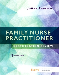 cover image - Family Nurse Practitioner Certification Review Elsevier eBook on VitalSource ( Retail Access Card),4th Edition