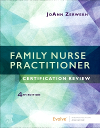 cover image - Evolve Resources for Family Nurse Practitioner Certification Review,4th Edition