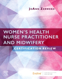 cover image - Evolve resources for Women's Health Nurse Practitioner and Midwifery Certification Review