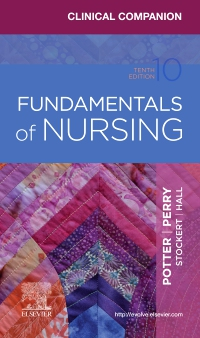cover image - Clinical Companion for Fundamentals of Nursing,10th Edition