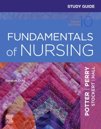 cover image - Study Guide for Fundamentals of Nursing,10th Edition