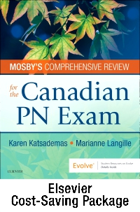 cover image - Mosby's Comprehensive Review for the Canadian PN Exam - Elsevier eBook on VST + Evolve (Retail Access Cards)