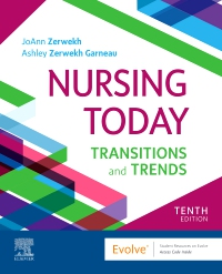 cover image - Evolve Resources for Nursing Today,10th Edition