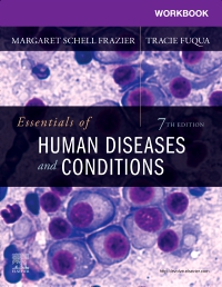 cover image - Workbook for Essentials of Human Diseases and Conditions,7th Edition