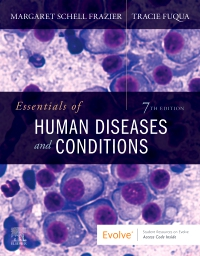 cover image - Essentials of Human Diseases and Conditions,7th Edition