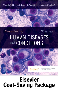 cover image - Essentials of Human Diseases and Conditions - Text and Workbook Package,7th Edition