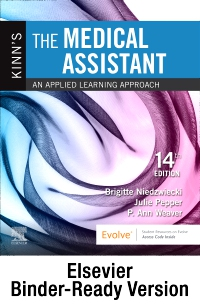 cover image - Kinn's The Medical Assistant - Binder Ready,14th Edition